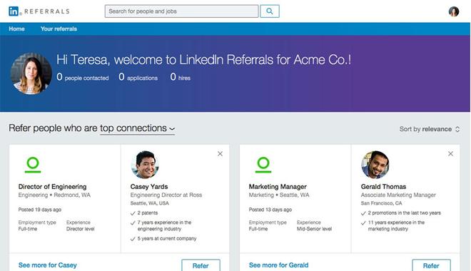 Linkedin arrive sur le marché de la cooptation