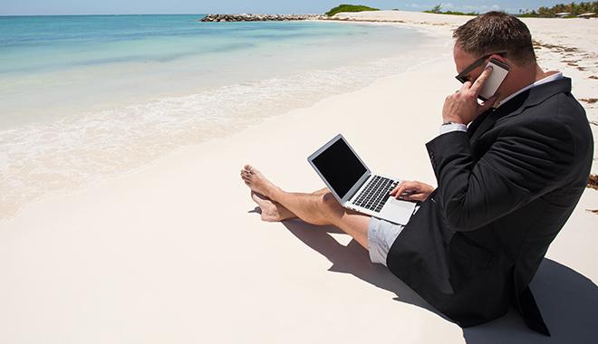 une revue du web pour préparer les vacances avec de la digital detox