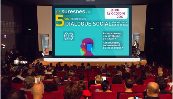 La confiance et l'expérimentation, notions clés des 5e Rencontres du dialogue social de Suresnes