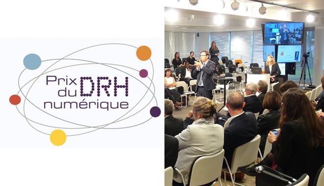 ANDRH prix du numérique 2017 à Montrouge