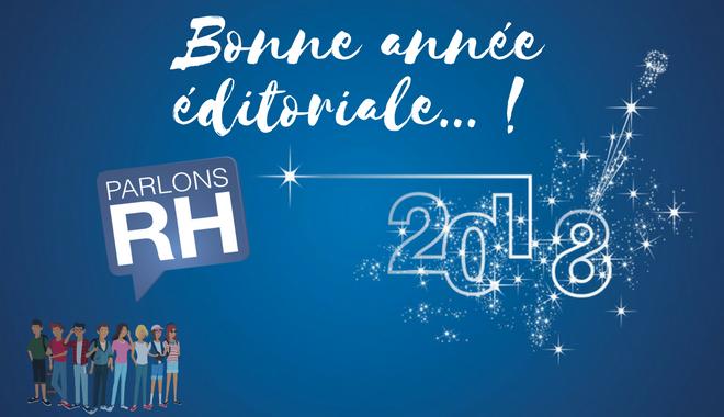les voeux de l'éditorial RH en 2018