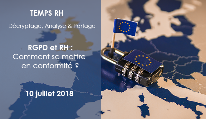 RGPD et RH : retours juridiques et opérationnels RH
