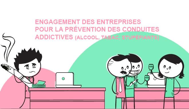 Engagement des entreprises pour la prévention des conduites addictives