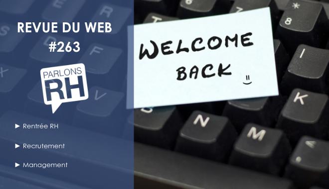 Welcome Back, c'est la rentrée RH