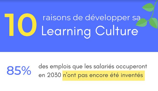 Organisation apprenante : développer votre Learning Culture, une question de survie ?