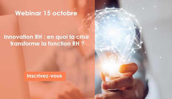 Innovation RH en quoi la crise transforme la fonction RH