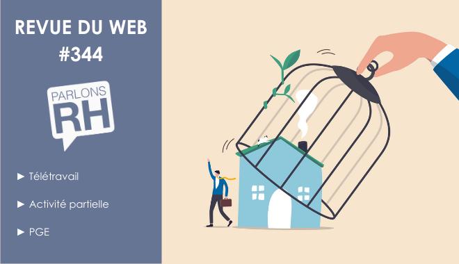 Revue du web #344 télétravail, activité partielle et PGE