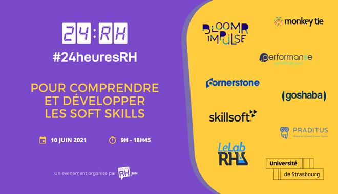 24heuresRH une journée de conférences en ligne dédiée aux soft skills