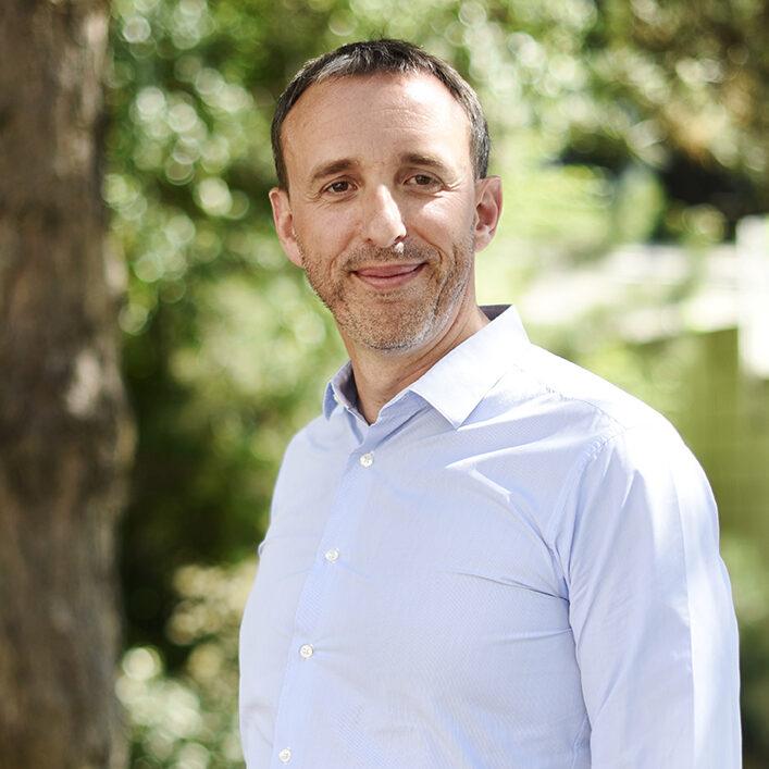Portrait de Jérôme Friteau, DRH, CNAV
