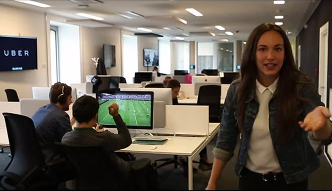 Une recruteuse présente le bien être au travail chez Uber France