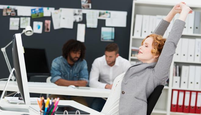 Quelques exercices pour améliorer votre bien-être au bureau