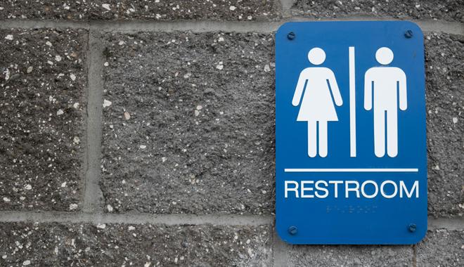 Pictogramme de toilettes mixtes