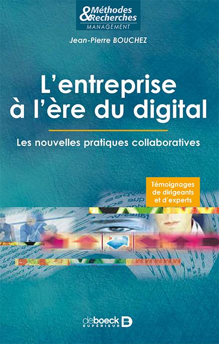 L'entreprise à l'heure du digital - Jean-Pierre Bouchez - couverture