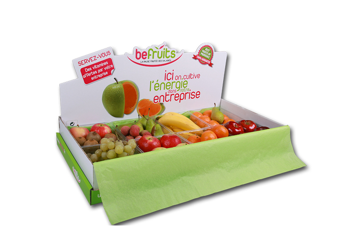 Un exemple de Box avec la Befruits Box