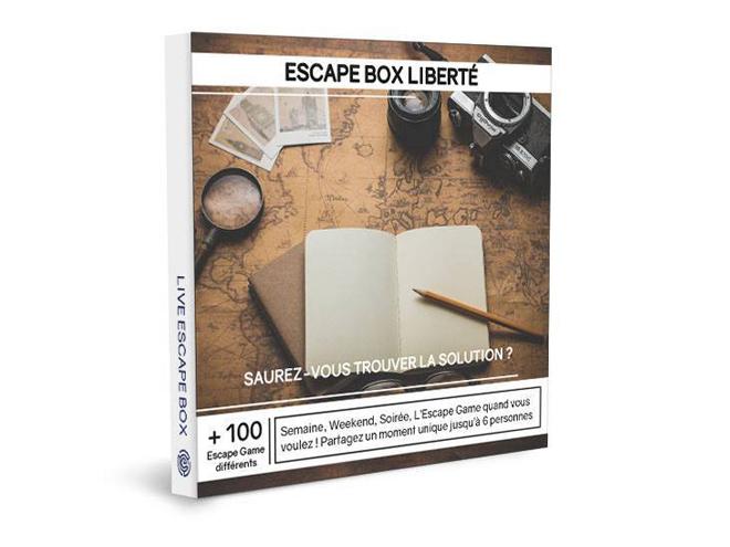 Un exemple de Box avec la Live Escape Box
