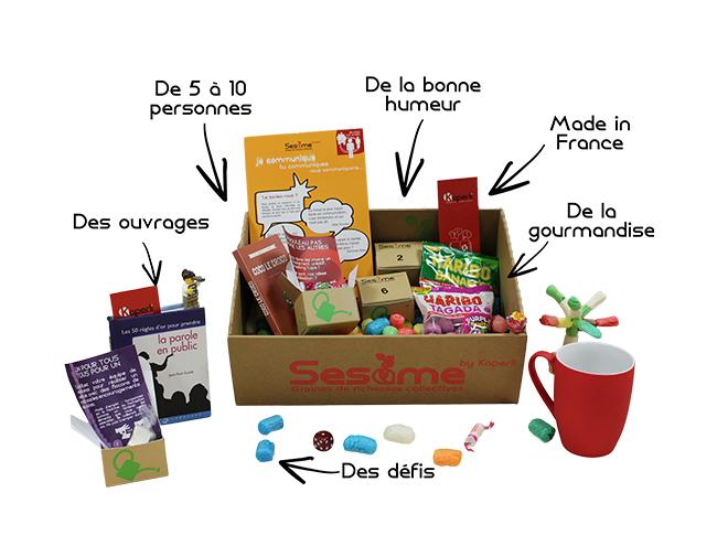 Un exemple de Box avec la Box Sésame