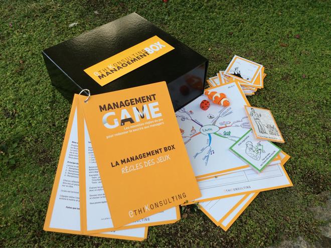 Un exemple de Box avec la « Management Box »