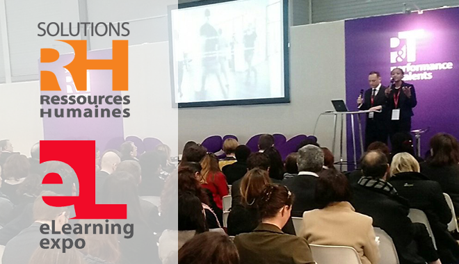 Le salon Solutions RH et e-Learning Expo se tiennent du 20 au 22 mars à Paris