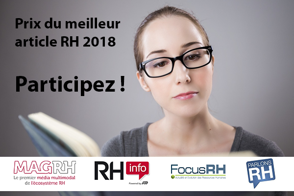 En partenariat avec Parlons RH, le Mag RH remet le prix du meilleur article RH 2018