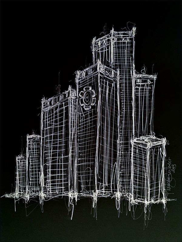Les rouages de l'entreprise illustrés par Thierry Guilbert