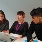 Les équipes de la startup OurCo