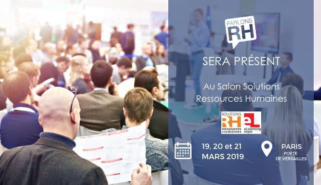 Parlons RH présent au Salon Solutions Ressources Humaines 2019