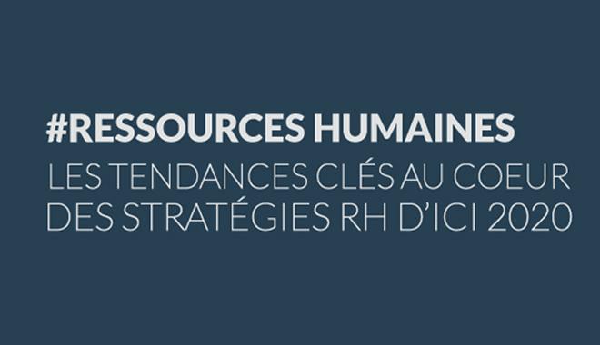 Fonction RH : Infographie tendances RH 2020