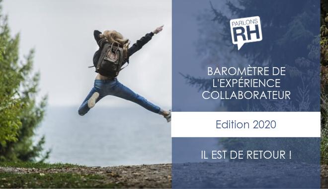 Le Baromètre de l'expérience collaborateur de Parlons RH est de retour