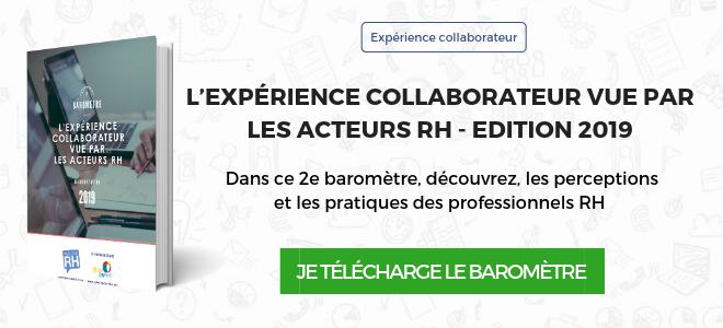 Baromètre Parlons RH 2019 expérience collaborateur