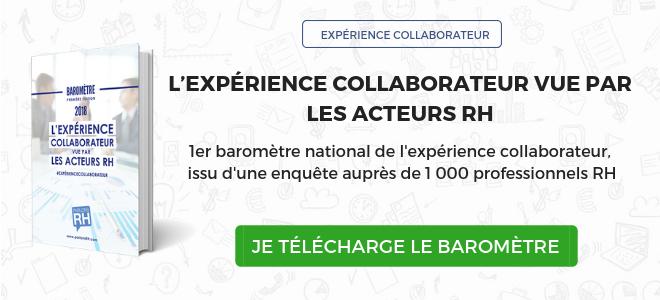 Baromètre Parlons RH 2018 expérience collaborateur