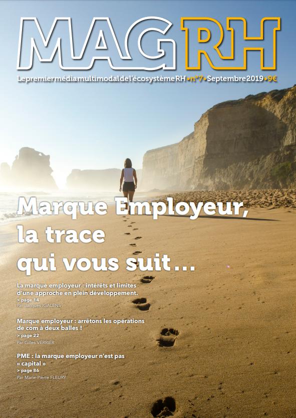 Mag RH consacré à la marque employeur sous la direction de Thomas Chardin