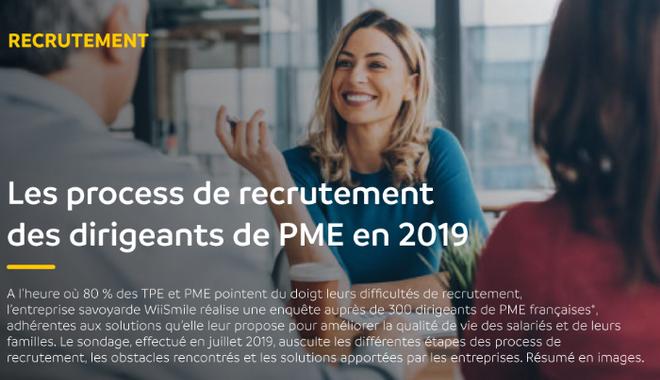 Recrutement en PME : scan des pratiques RH 2019