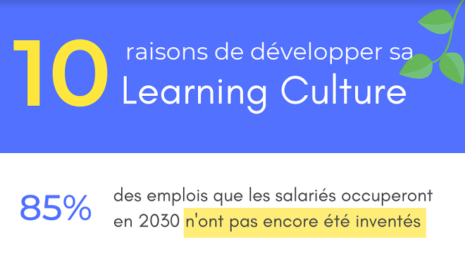 Organisation apprenante : développer votre Learning Culture, une question de survie ?