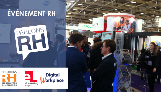 26e édition du salon Solutions Ressources Humaines à Paris en mars 2020