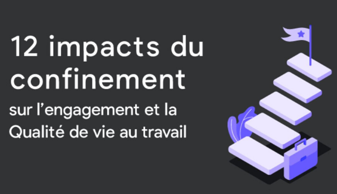 Infographie - les impacts du confinement sur la QVT