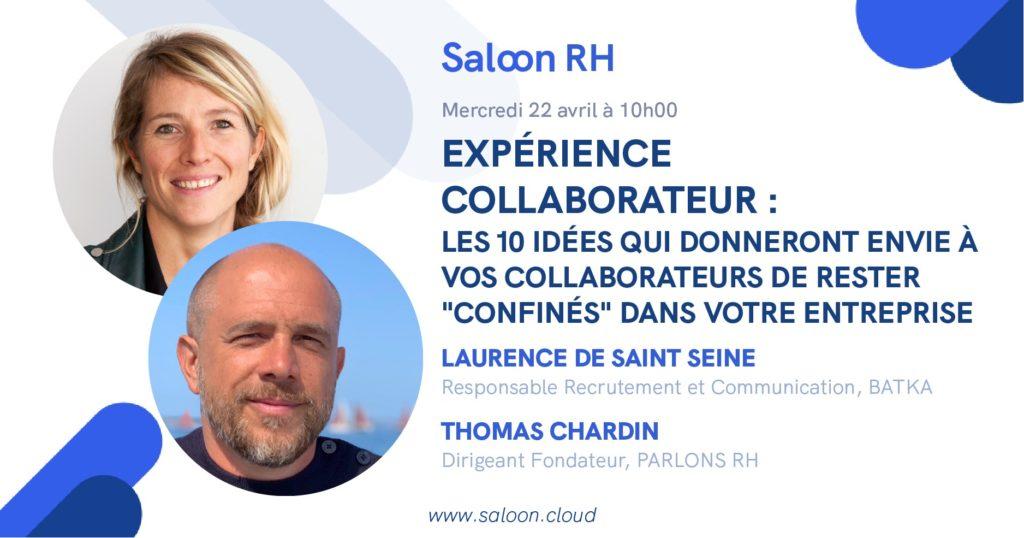 Saloon RH Expérience collaborateur Thomas Chardin keycoopt