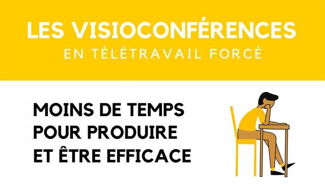 Les visioconférences en télétravail forcé : une pratique à améliorer