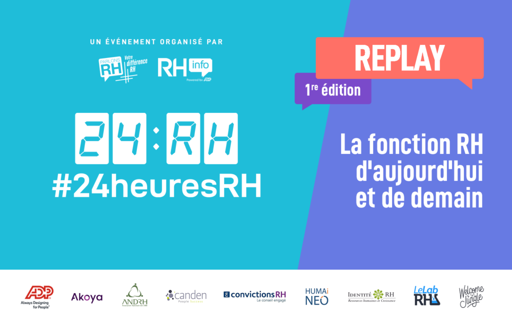 Visionner les replays de #24heuresRH