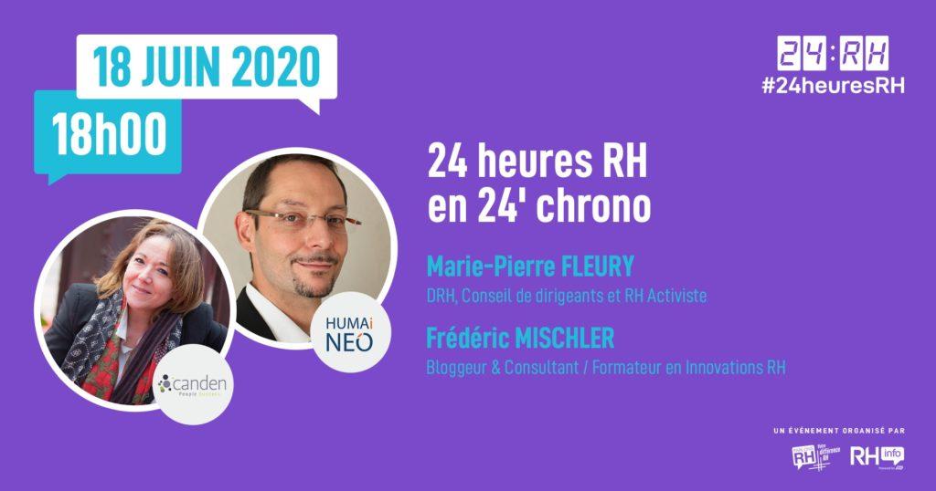 #24heuresRH - 24 heures RH en 24' chrono