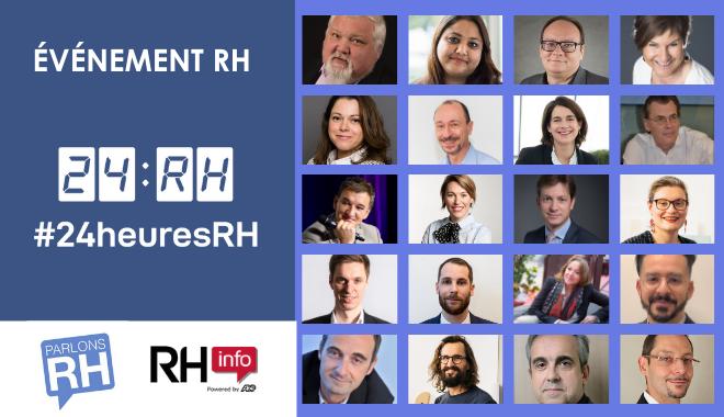 Quel avenir de la fonction RH : 20 experts répondent aux #24heuresRH