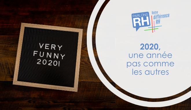 Parlons RH - 2020 une année pas comme les autres télétravail