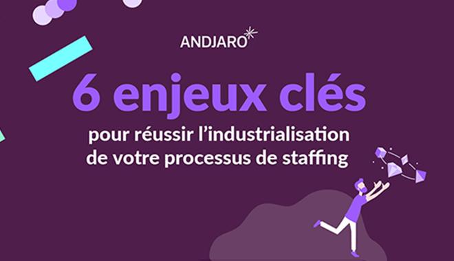 Digitalisation du staffing par où commencer - infographie Andjaro