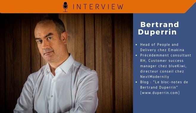 Bertrand Duperrin pour Parlons RH - Expérience collaborateur